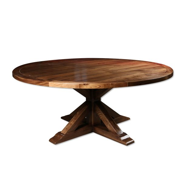 Maite Reclaimed Wood Round Dining Table