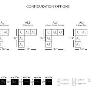 Aslan Modular Sectional Collection