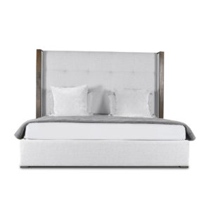 Irenne Button Tufted Height Bed