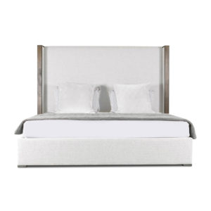 Irenne Plain Upholstery Height Bed