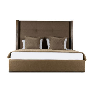 Irenne Simple Tufted Height Bed