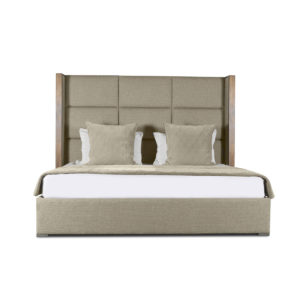Irenne Square Tufted Height Bed