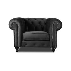 Trento Chesterfield Tufted Velvet Chair