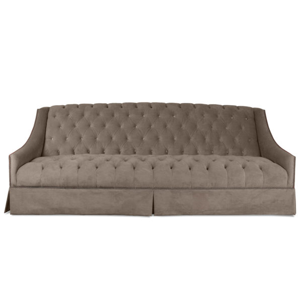 Tuscany Tufted Velvet Sofa
