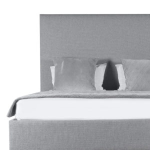 Moyra Plain Upholstery Height Bed