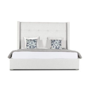 Aylet Button Tufted Height Bed