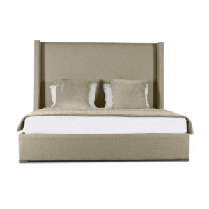 Aylet Plain Upholstery Heigh Bed