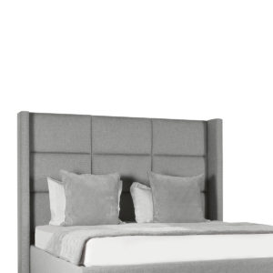 Aylet Square Tufted Height Bed
