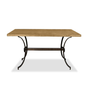 Idaho Wrought Iron Rectangular Counter or Bar Height Table