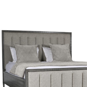 Samantha Vertical Channel Tufting Bed