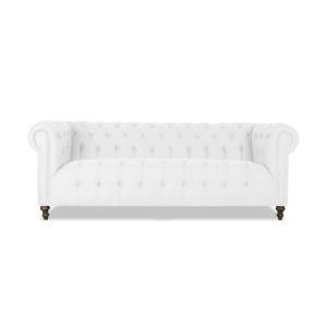 Saint Patrick Chesterfield Tufted Linen Sofa
