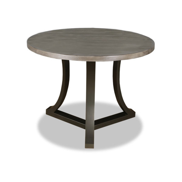 Vasil Wood Round Counter or Bar Height Table