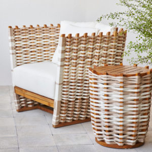 California Outdoor Side Table