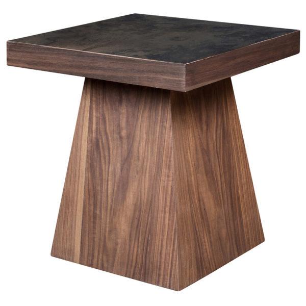 Paint it Black Lamp Table