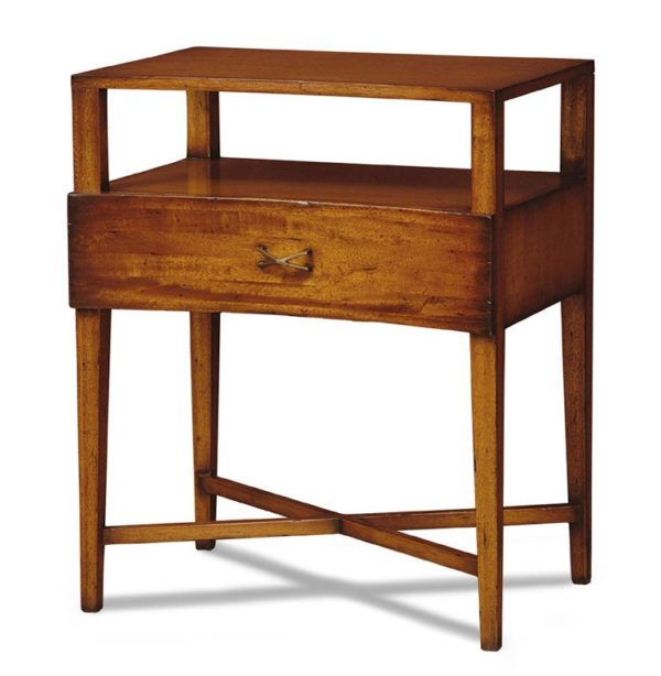 Portico Curved Nightstand