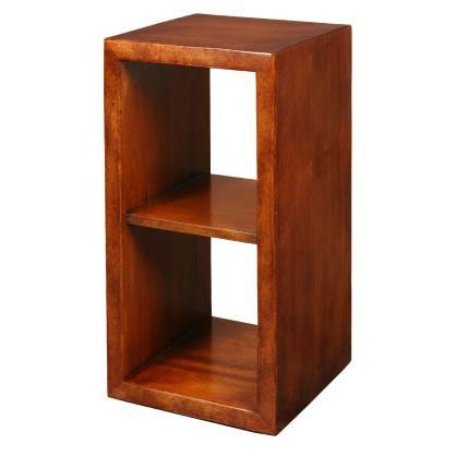 Loft Pedestal End Table